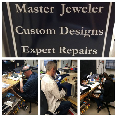 Repairs at Stardust Jewelers in Mendon